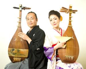 琵琶で弾き語る昔話・面白話・不思議話