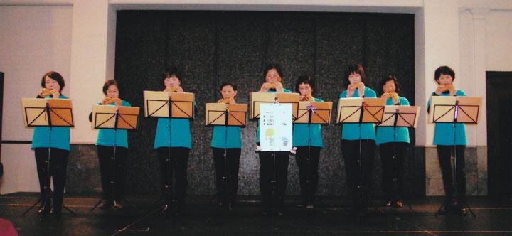 オカリナ・フレンズミニミニコンサート