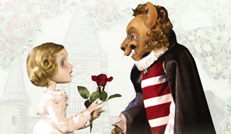 人形劇団ひとみ座公演「美女と野獣」