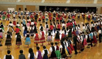岡山城で踊ろう 楽しいフォークダンス