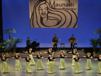 Maunalei Hula competition