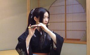 朱鷺たたらによる篠笛の響き