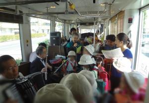 コンサート電車