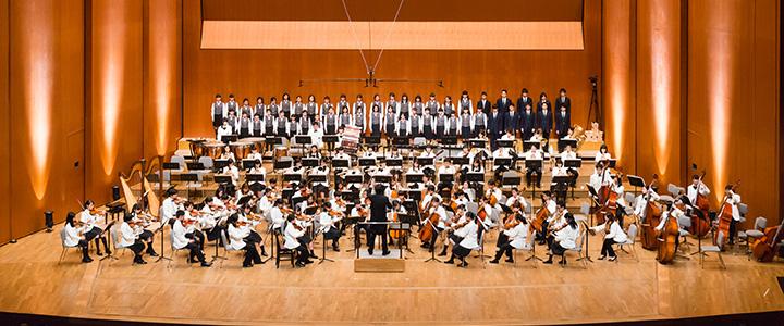 岡山市ジュニアオーケストラ・岡山市ジュニア合唱教室