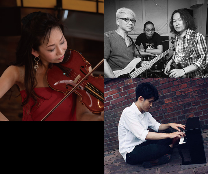 おかやま国際音楽祭2019×イオンモール岡山 鈴と光の庭 haremachi Garden コンサート